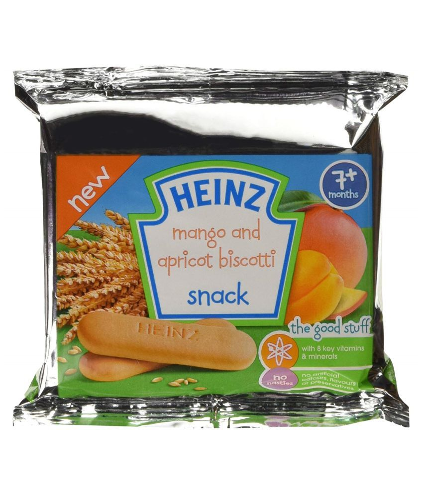 Heinz Mixed fruits Snack Foods for 6 Months + ( 60 gm )