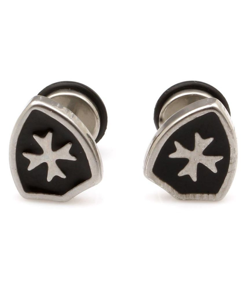 Sanaa Creations Antique designer Fashionable Unique Studs Earrings For Mens And Boys.