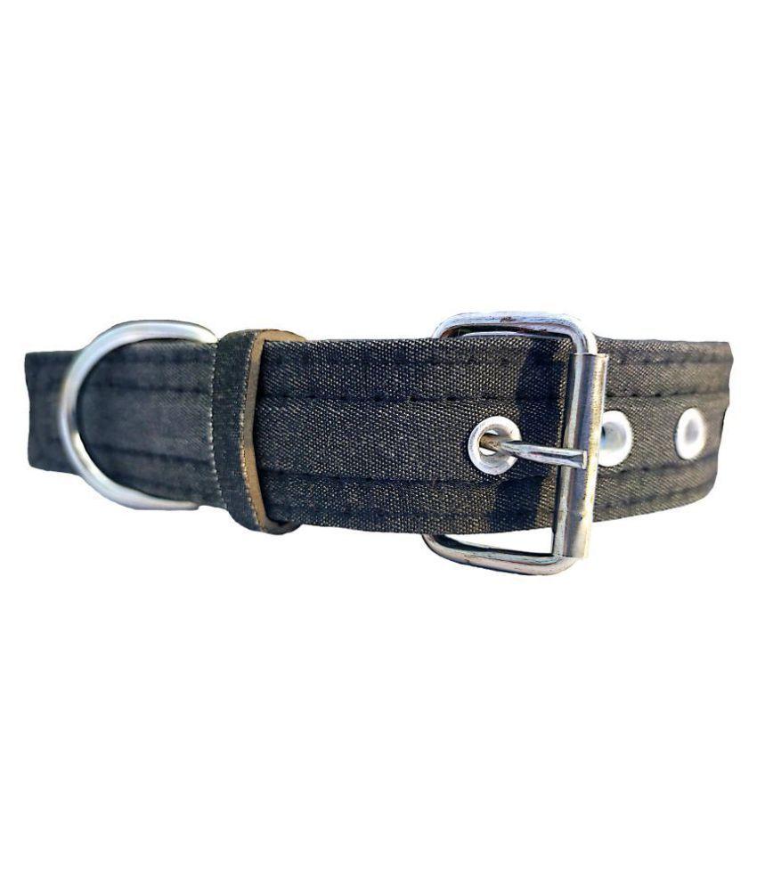 Forever99 Pet Shop Fabric Dog Collar Neck Belt for Small Medium Large Dogs adjustable dog collar