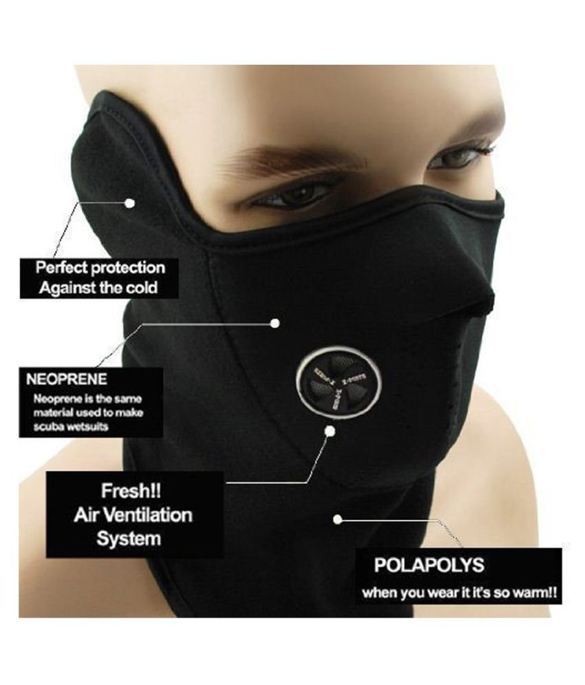Virus Protected Bike Riding and Cycling Anti Pollution Dust Sun Protecion Half Ninja Face Cover Mask