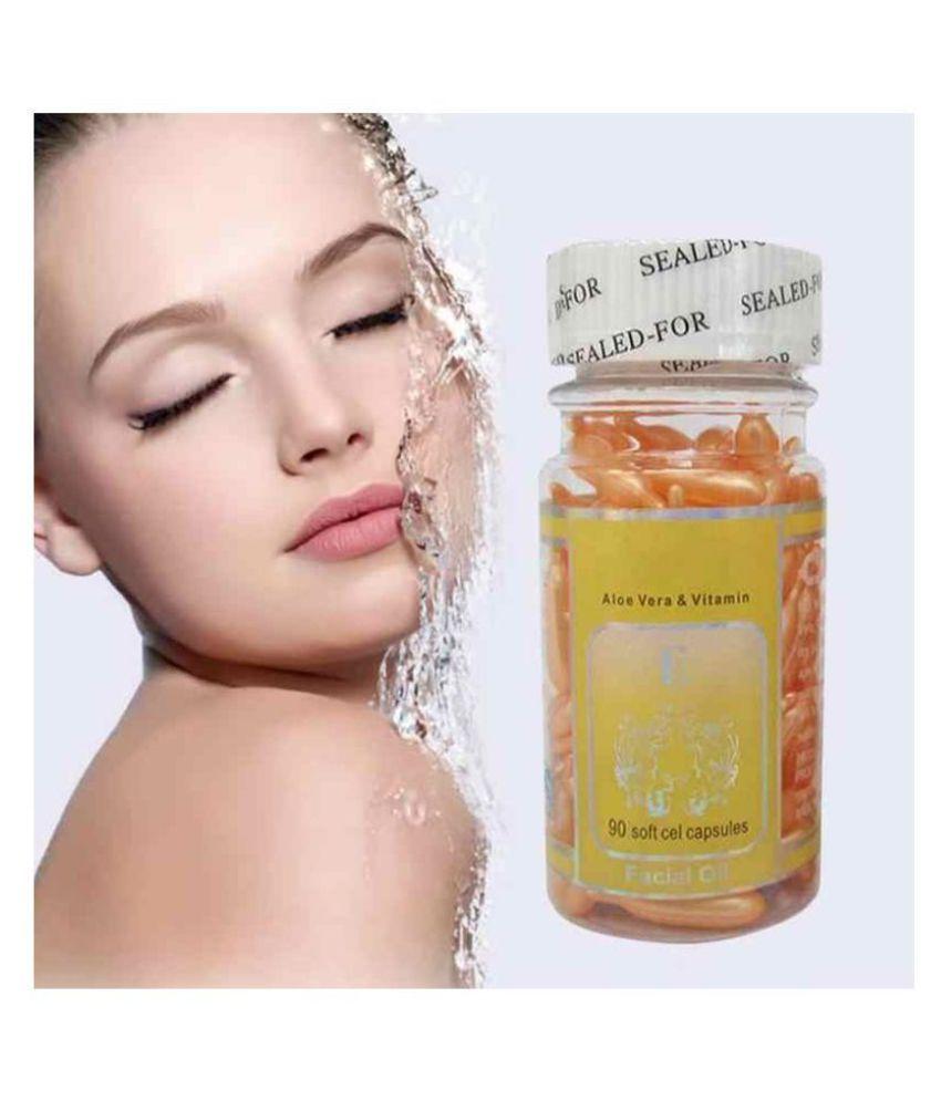 SPERO 60pcs Aloe Vera Vitamin E Serum  Facial Kit g