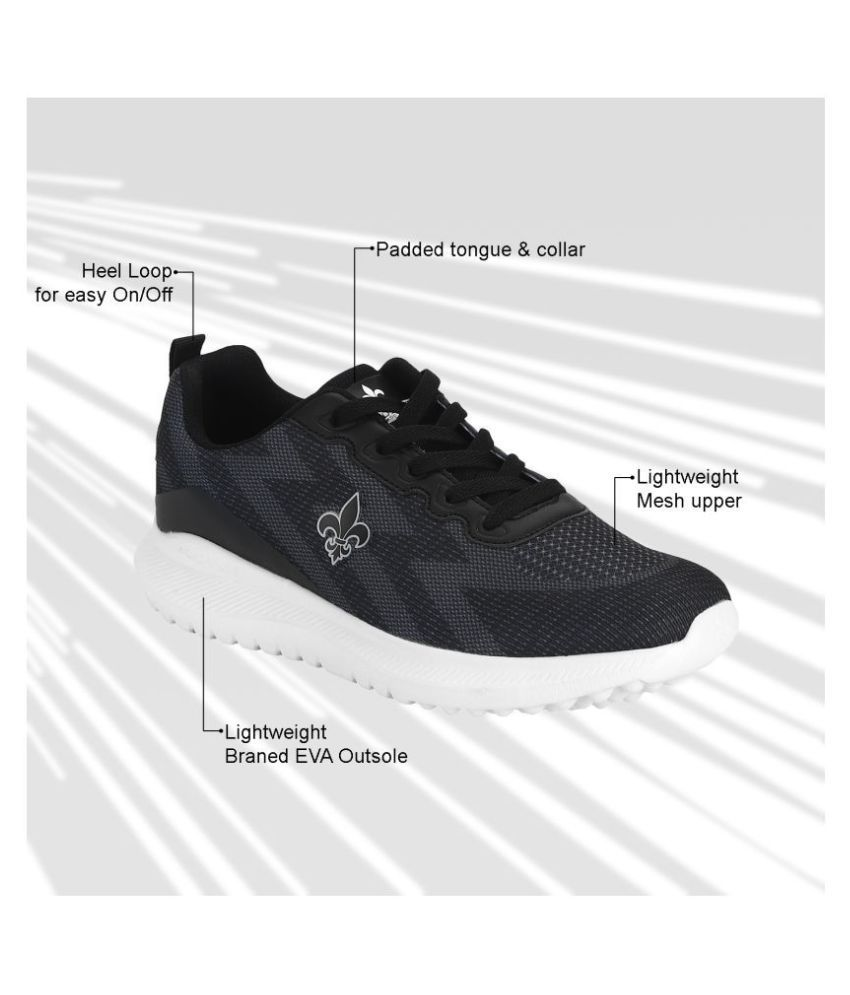 Bond Street By Red Tape Black Training Shoes