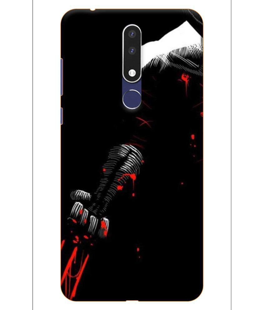 Nokia 3.1 Plus Printed Cover By NICPIC 3D Printed