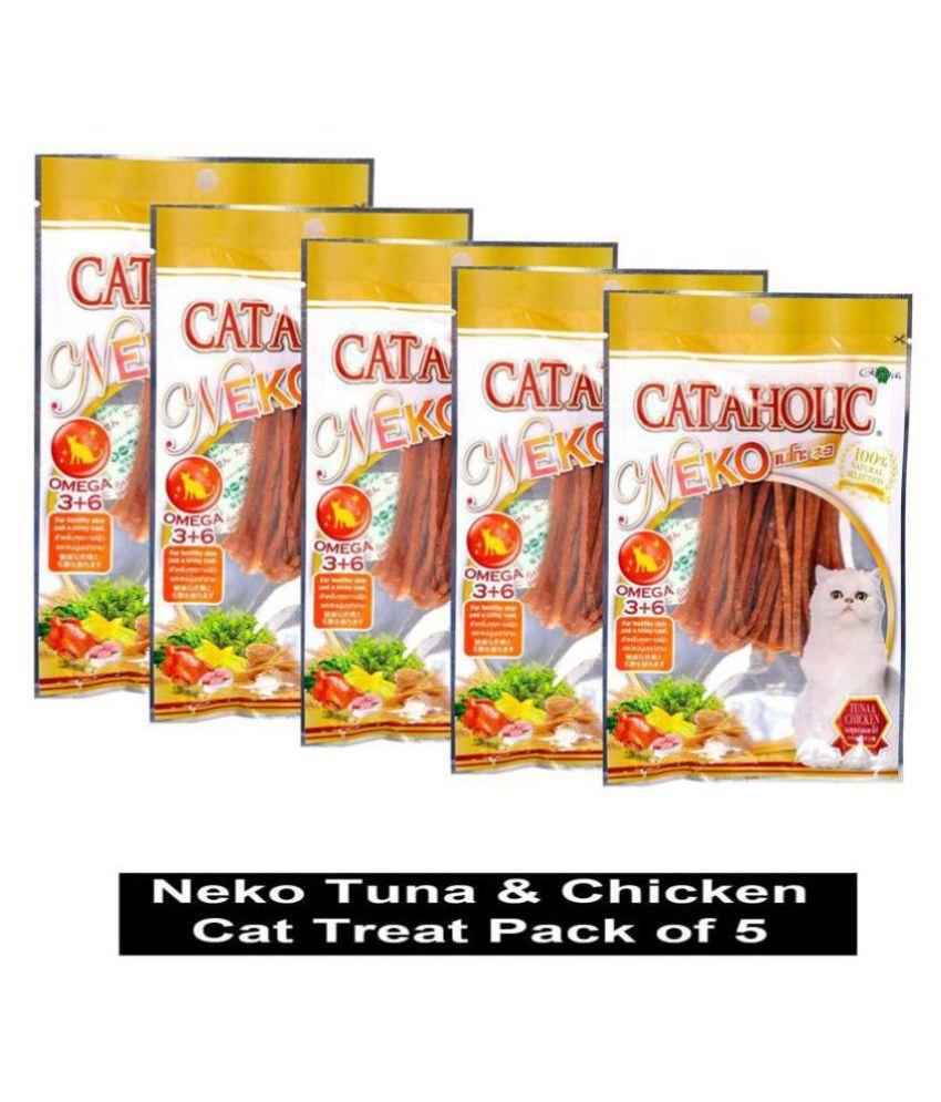 Cataholic Neko Tuna & Chicken Cat Treat for Cat and Kitten (Pack of 5)