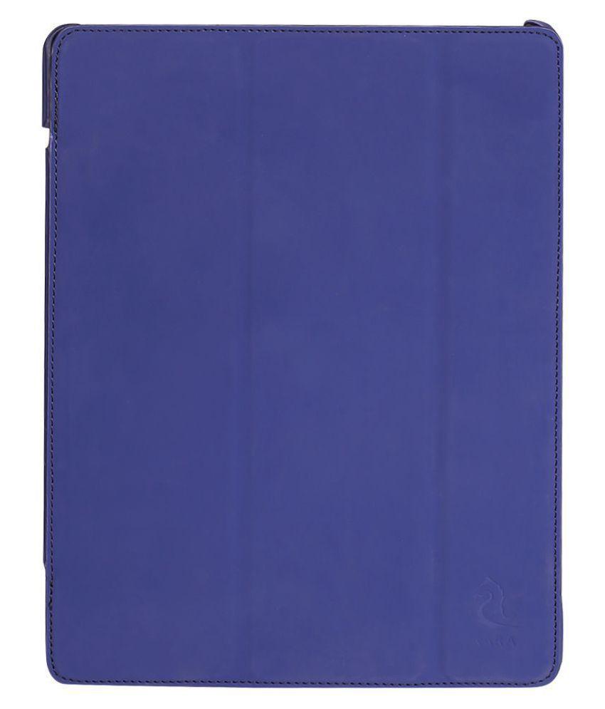Apple iPad Mini 2 Plain Back Cover By Kara Navy Blue