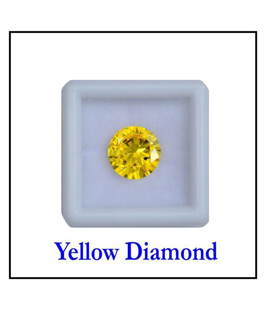 R.K GEMS/ Yellow 6.25 Carat American Diamond Gemstone (Zircon)