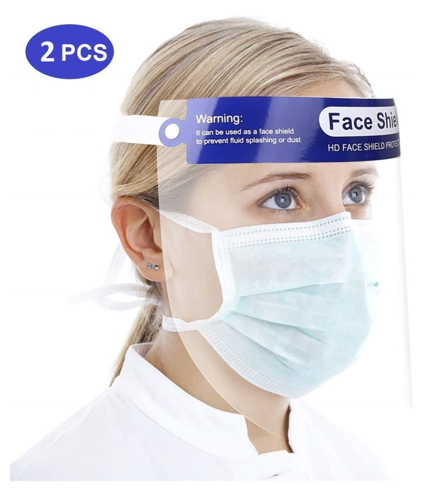 NINE10 2Pcs Face Shield Reusable