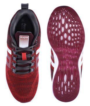 Campus NASA Red Running Shoes - Buy