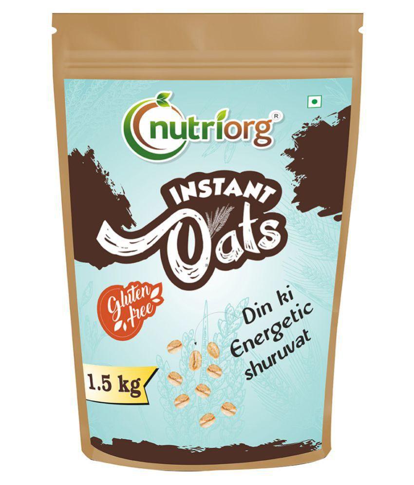 Nutriorg Instant Oats 1500 gm