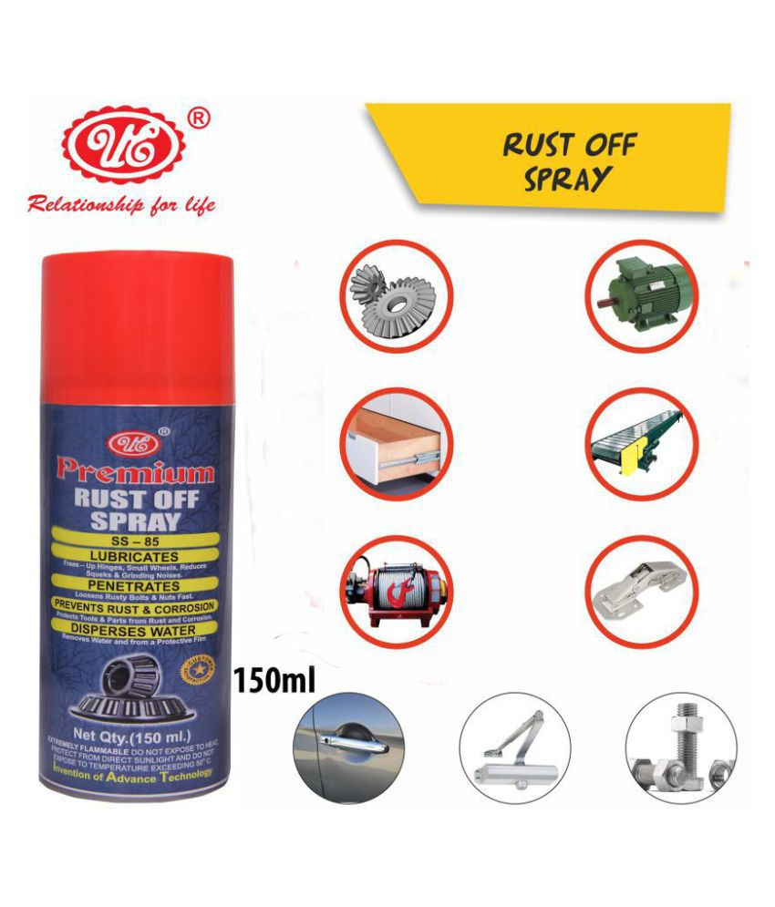 UE Premium Rust off Spray for rust Loosener,Maintenance and Lubricant Multi-Function (150 ML) Car Care/Car Accessories/Automotive Products