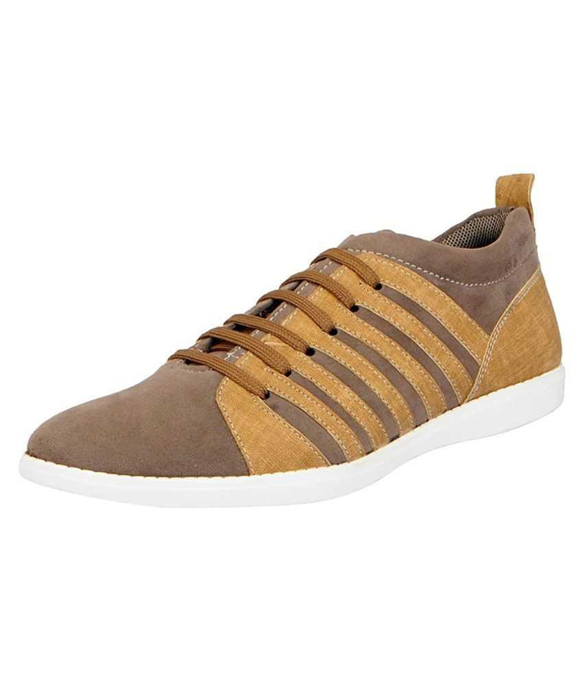 Fausto Sneakers Gray Casual Shoes