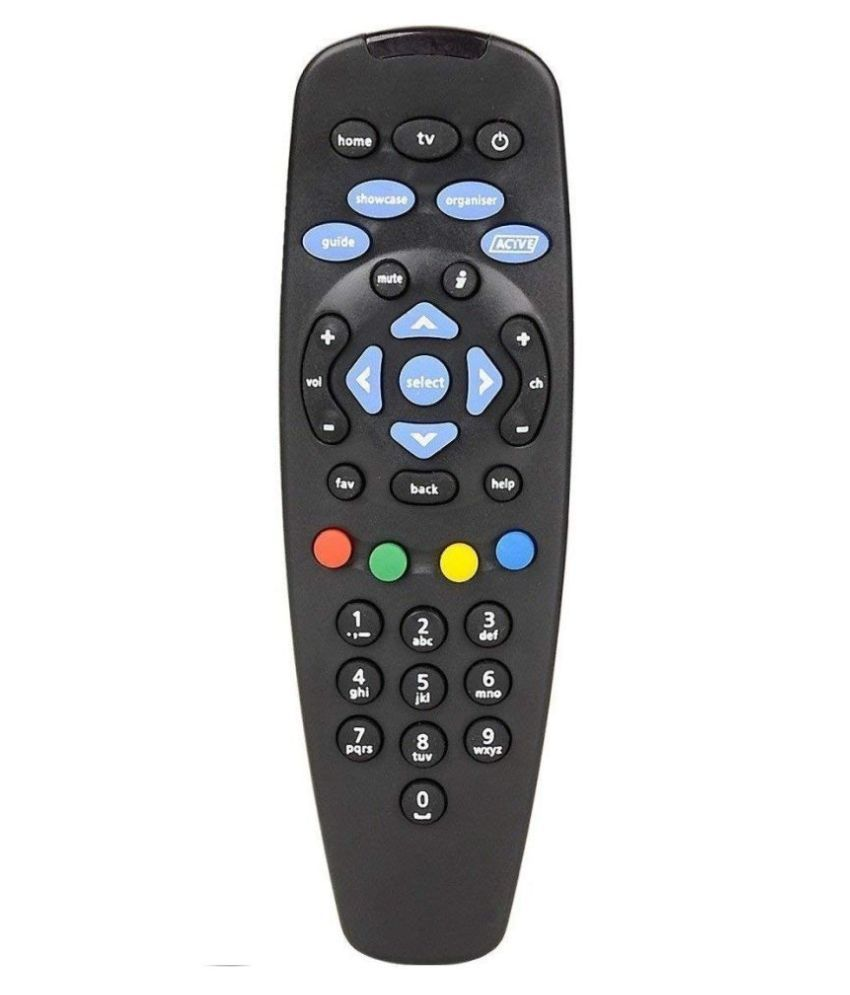 V_GADGETS NA TV Remote Compatible with TATASKY Dth Remote for SD/HD