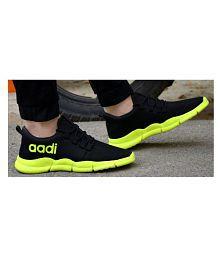 Aadi Men's Black Running Shoes