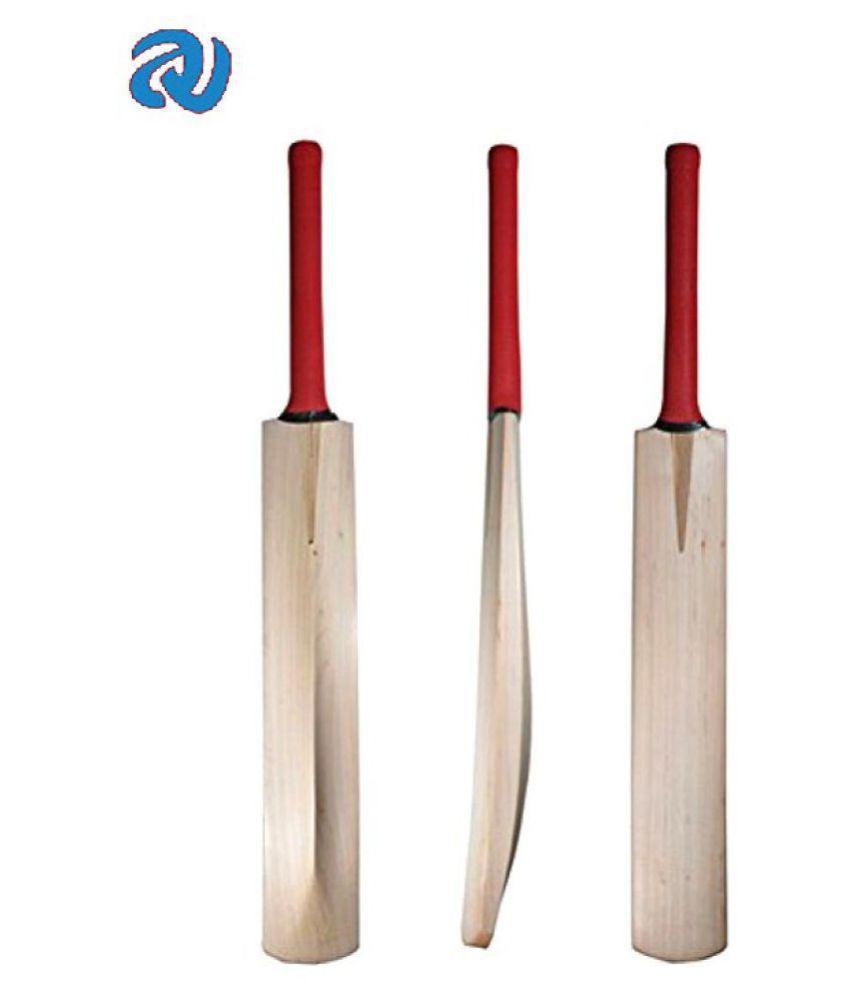 A1VK Kashmir Willow Cricket bat  Full Size