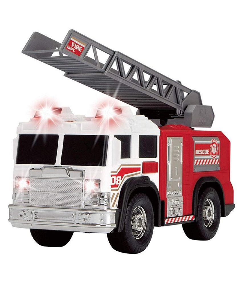 Dickie Fire Rescue Unit Truck with Light and Sound