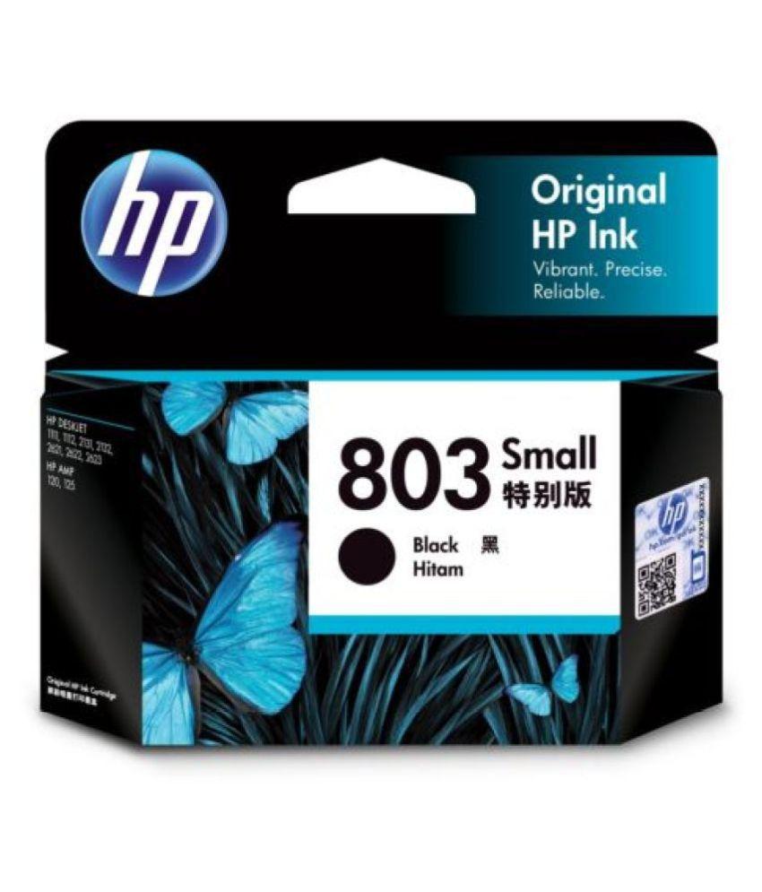 HP 803 Small Black Ink Cartridge F6V23AA