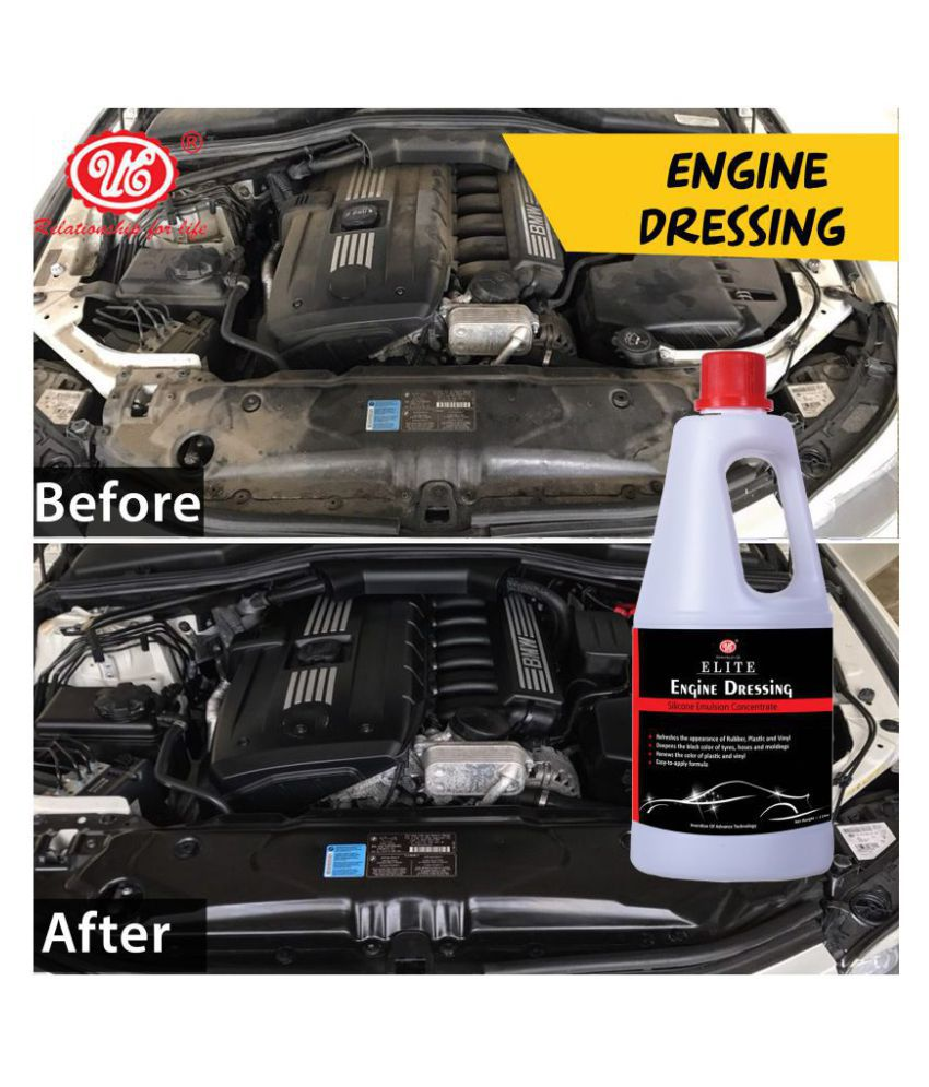 UE Elite Engine Dressing Silicone Emulsion Concentrate For Car - 1 Liter Car Care/Car Accessories/Automotive Products