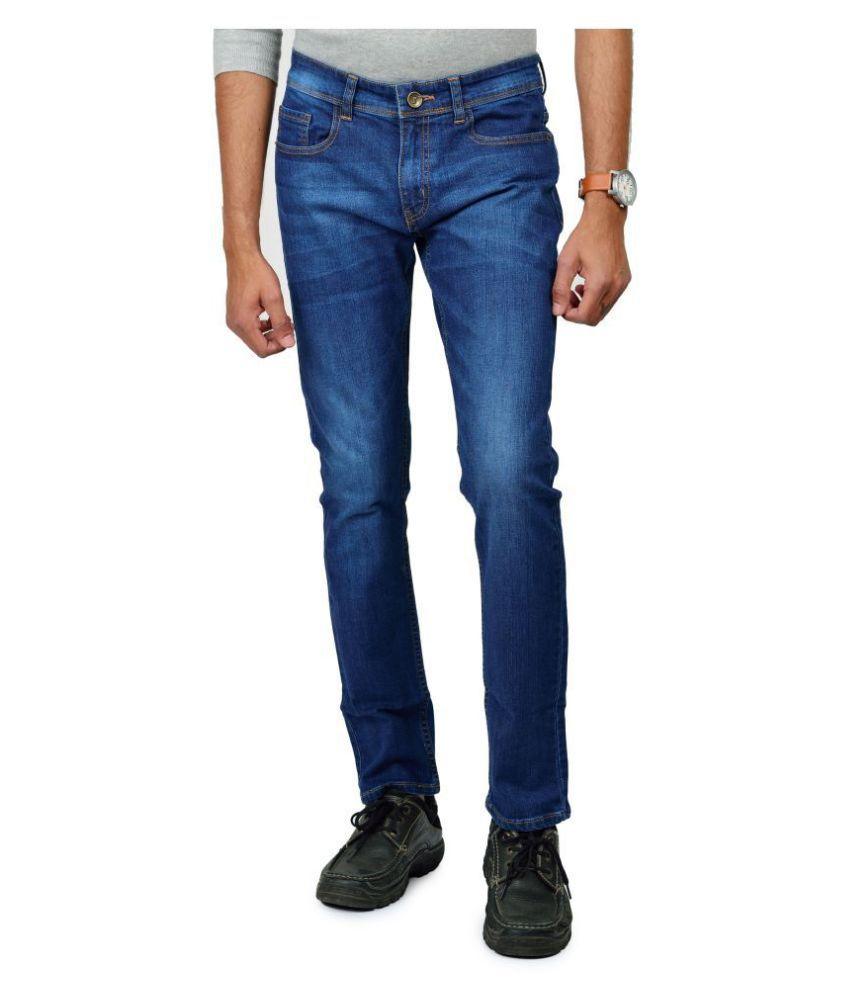 FLIVEZ Blue Slim Jeans
