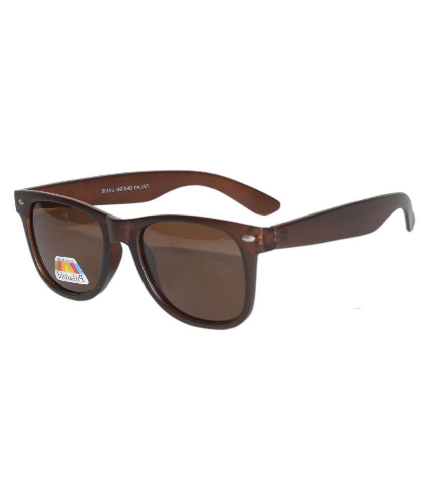 Peter Jones - Brown Square Sunglasses ( POL8223BW )