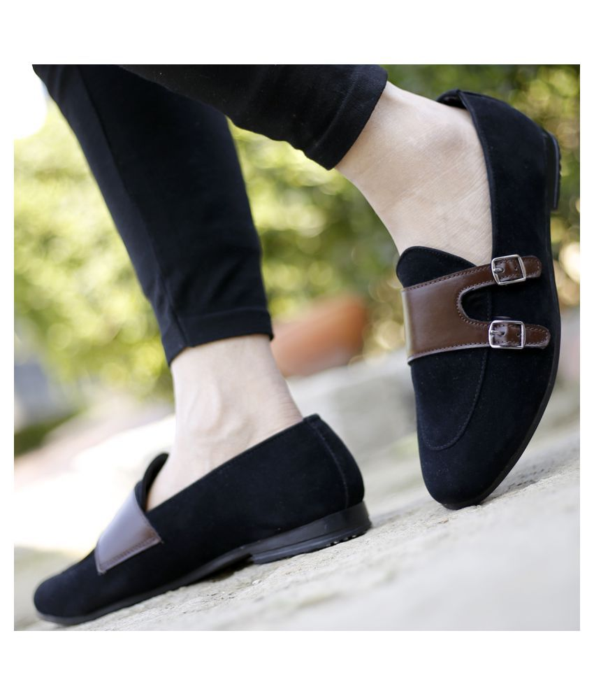 bxxy black formal shoes