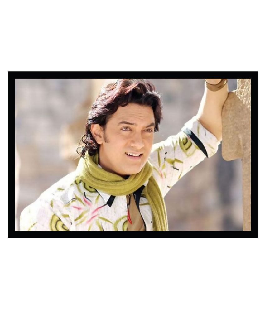 Aamir Khan Poster with Frame Without Glass F-29