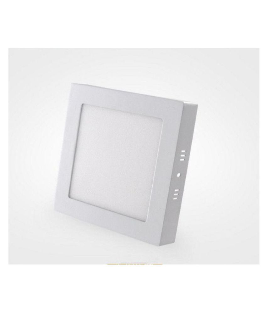 D'Mak Surface 12W Square Ceiling Light 16.2 cms. - Pack of 1