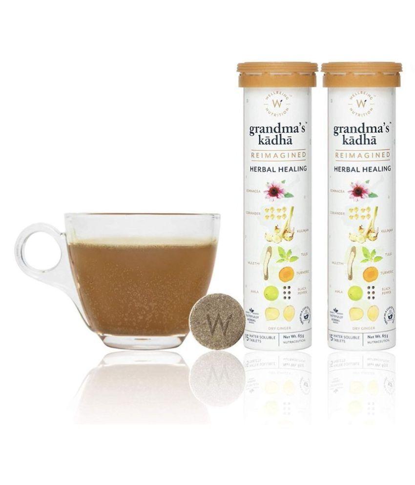 wellbeing nutrition Grandma's Kadha(Pack of 2) Health Drink 126 gm