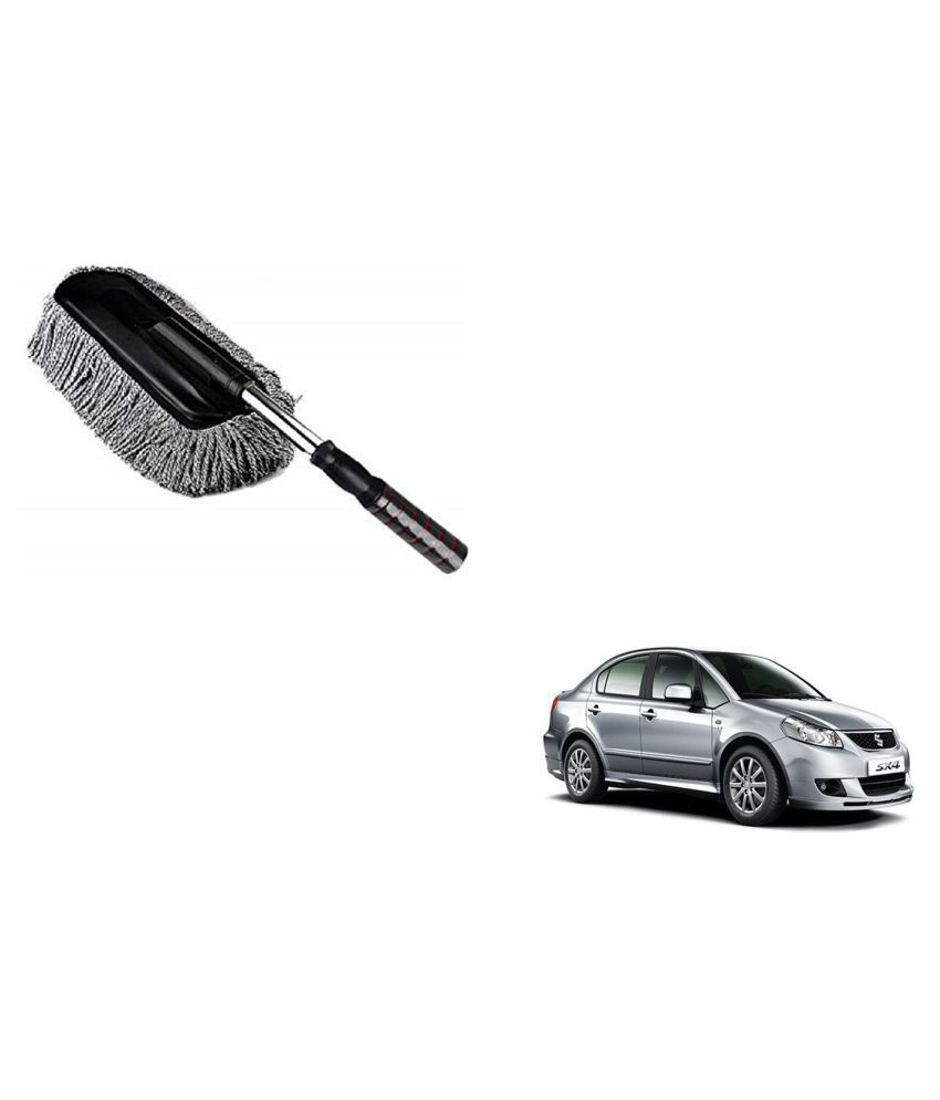 Madmex Microfiber  Car Cleaning Duster Brush Mop for Maruti Suzuki Sx4