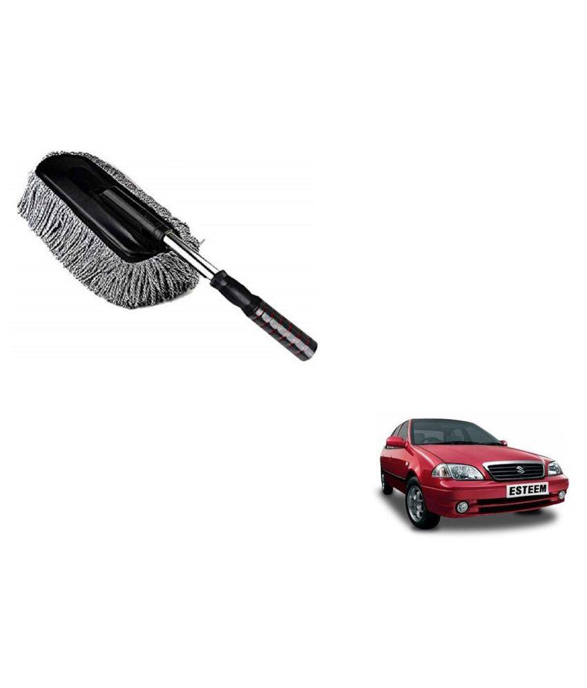 Madmex Microfiber  Car Cleaning Duster Brush Mop for Maruti Suzuki Esteem