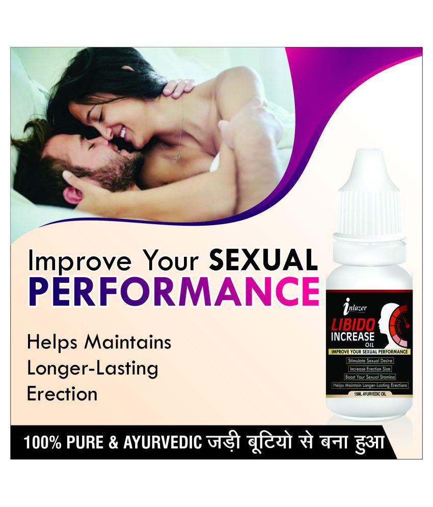 Inlazer Increase herbal oil increase strength  Oil 15 ml Pack Of 1