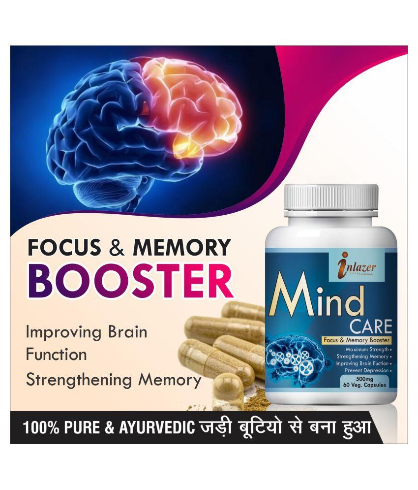 Inlazer Mind Care confidence exam power  Capsule 60 no.s Pack Of 1
