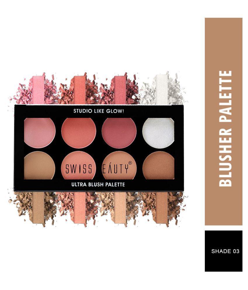 Swiss Beauty Ultra Blush Palette (Shade-03), 16gm