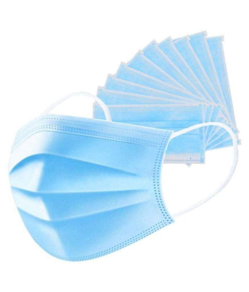 OSFT Disposable Mask -500Pcs Fold-flat Dust Masks