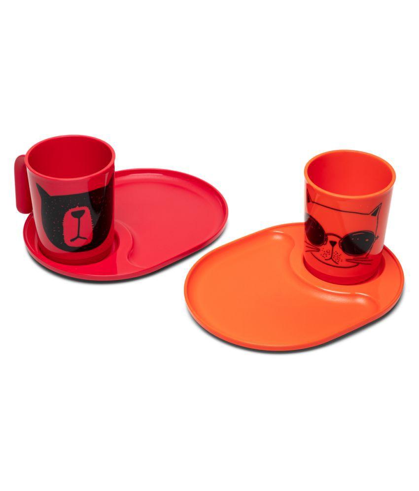 Tupperware Plastic Coffee Set 2 Pcs ml