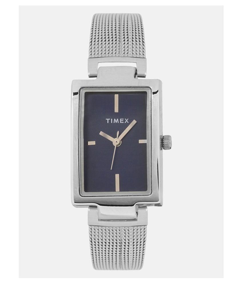 Timex Analog Blue Dial Women #039;s Watch TWEL11307