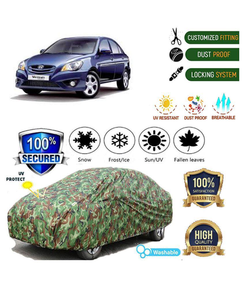 QualityBeast Jungle Car cover for Hyundai Verna Transform