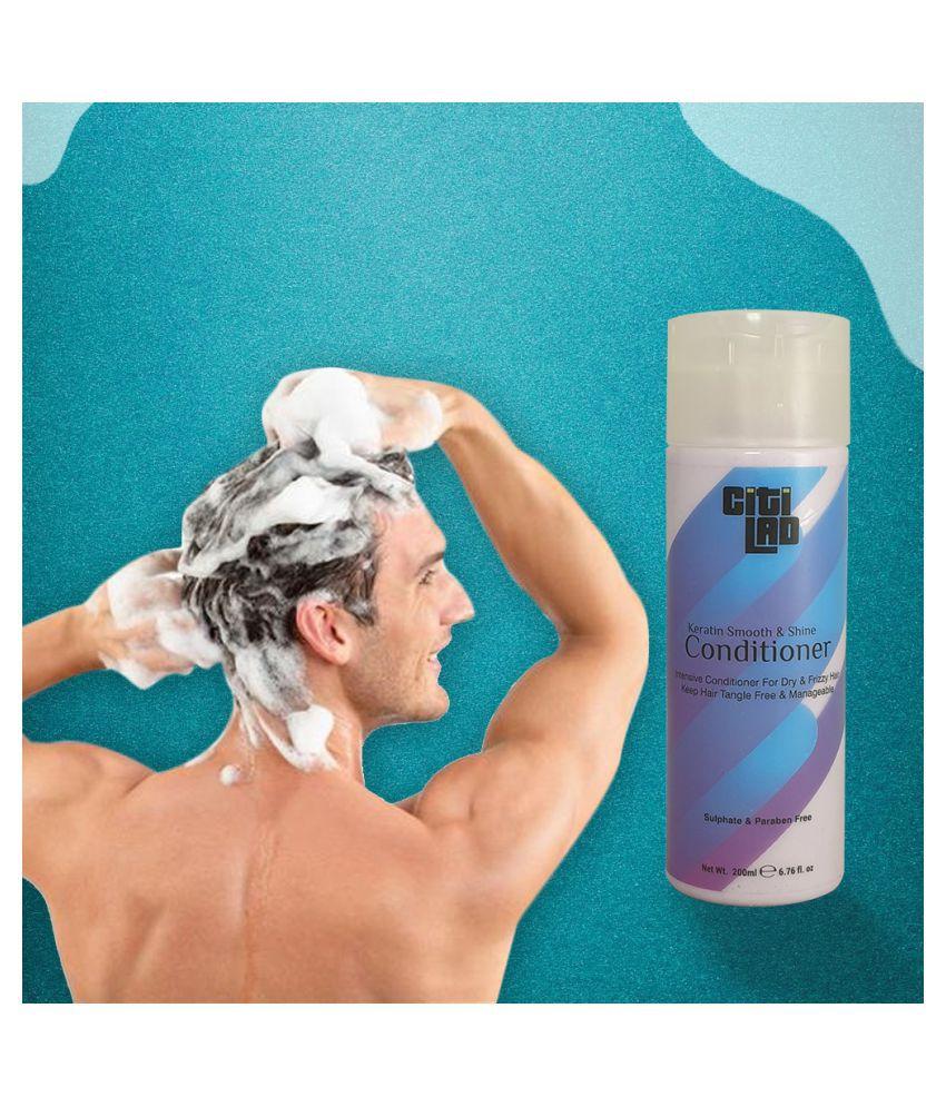 CItilad Lifestyle Shine Conditioner 200 ml - No Paraben & Sulphate Detangling Deep Conditioner 200 g