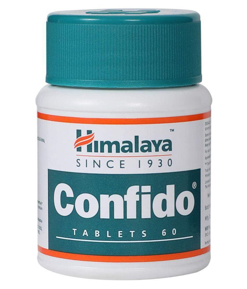 Himalaya CONFIDO Tablet 60 no.s Pack Of 6