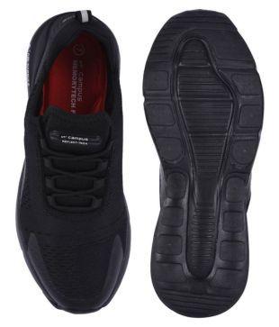 Campus DRAGON Black Running Shoes - Buy