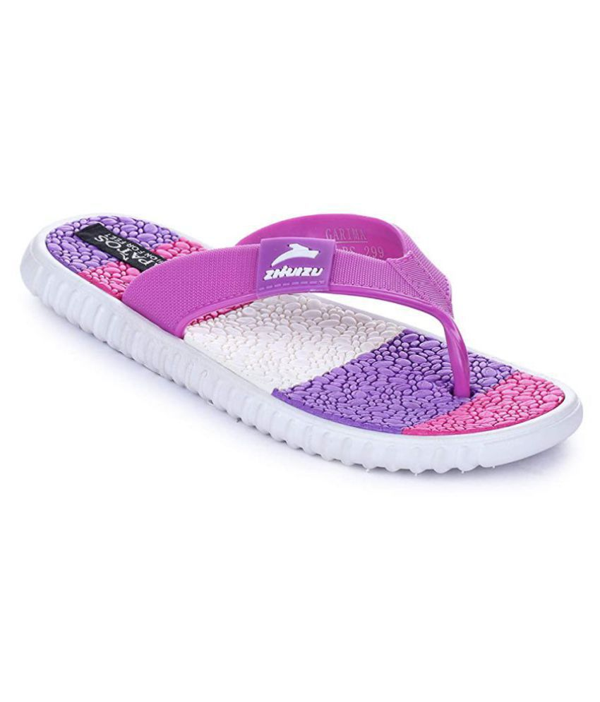 Sapatos Purple Slippers