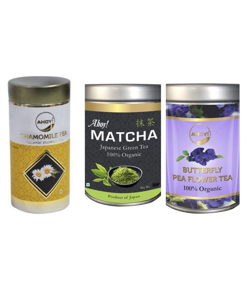 AHOY! Weight Loss Tea Loose Leaf 130 gm Pack of 3