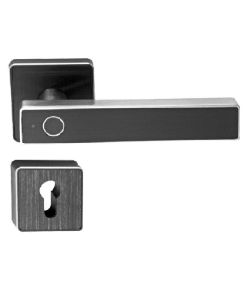 Ozone Smart Internal Door Lock Trinity OZ FDL 22 RBL Std  Black