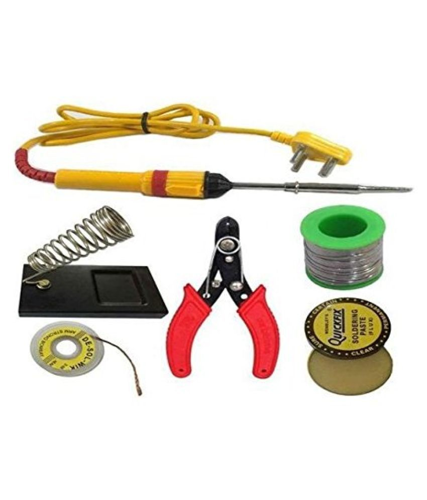 VBA 6 in 1 Electric Soldering/Welding Iron Kit For DIY/Crafts Soldering Iron