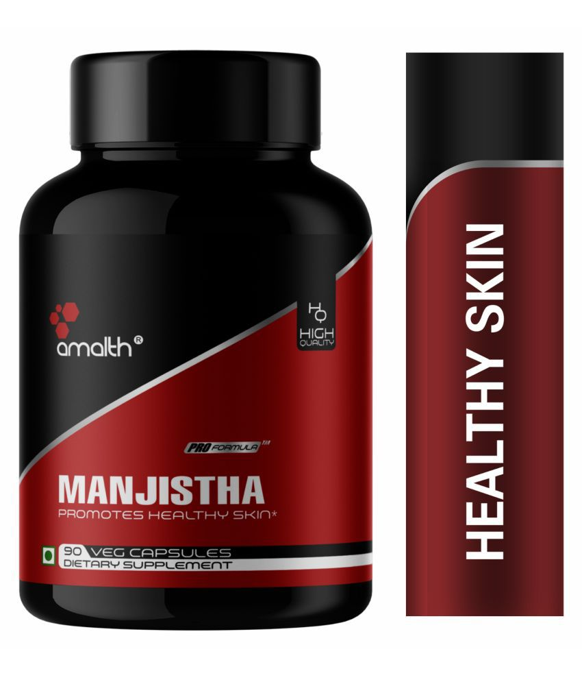 Amalth Manjistha Extract Skin Glow Supplement Capsule 500 mg