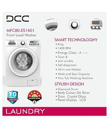 DCC 8 Kg MFC80FL Fully Automatic Fully Automatic Front Load Washing Machine