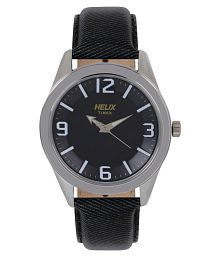 Helix TW031HG10 Leather Analog Men's Watch