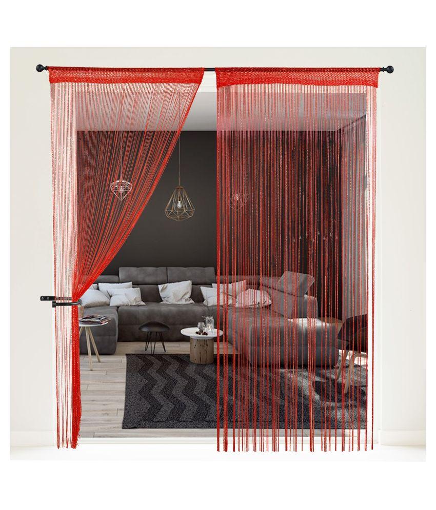 Story@Home Single Door Beaded String Curtain