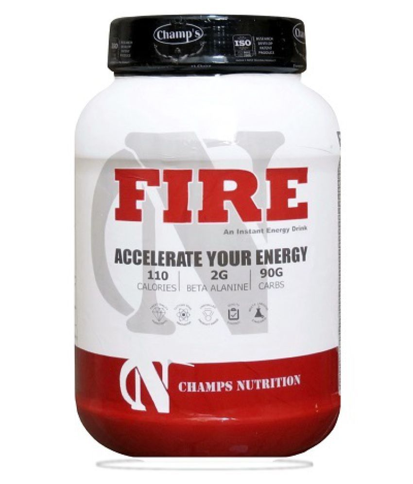 Champs Nutrition Fire (Orange) Energy Drink for All 2 lb