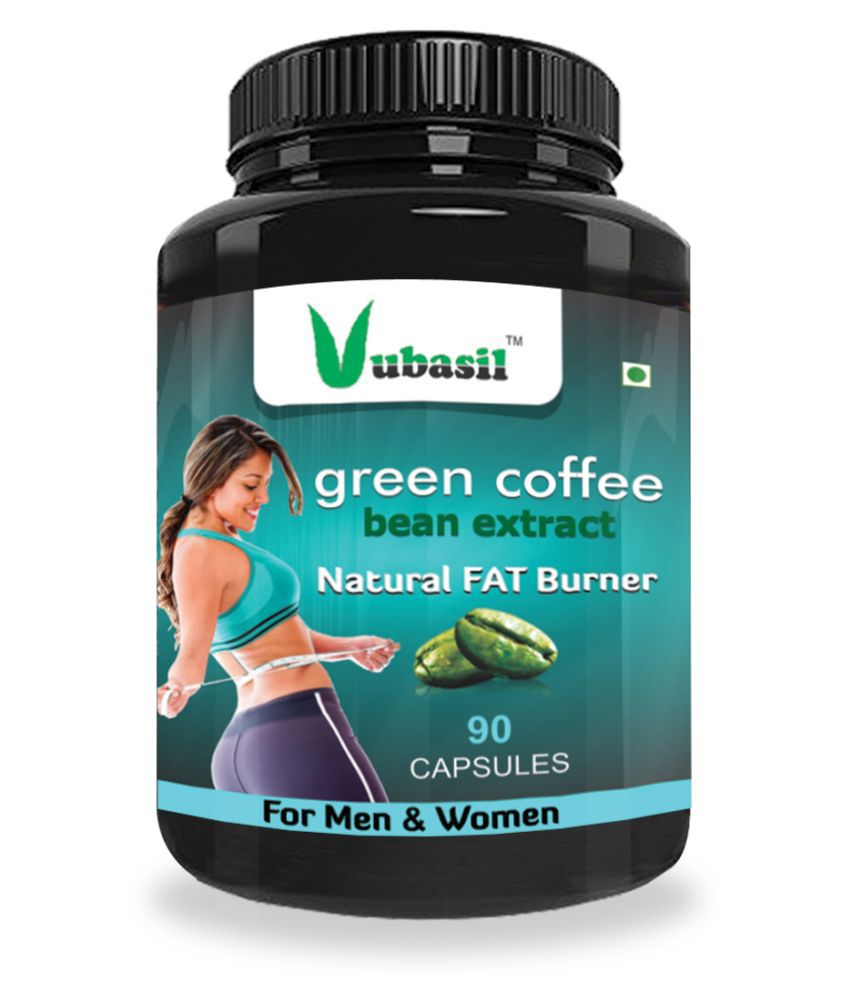 VUBASIL Best Green Coffee Weight Loss Immunity Booster 90 800 mg Fat Burner Capsule