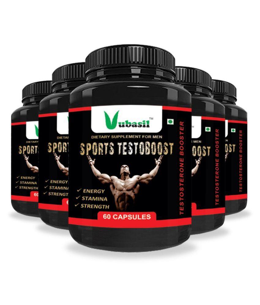 VUBASIL Best Testorane Booster (300 Capsules) 800 mg